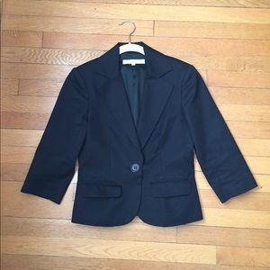 Trina Turk cropped sleeve blazer size 4
